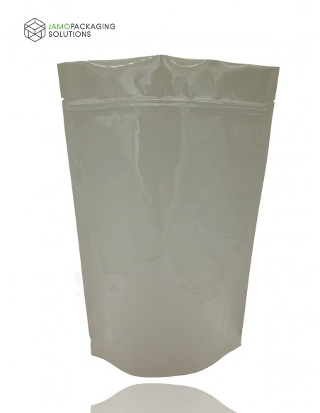 TRANSPARENT STAND UP SEALABLE POUCH ZIP LOCK/ VERY THICK 100-7000 ml