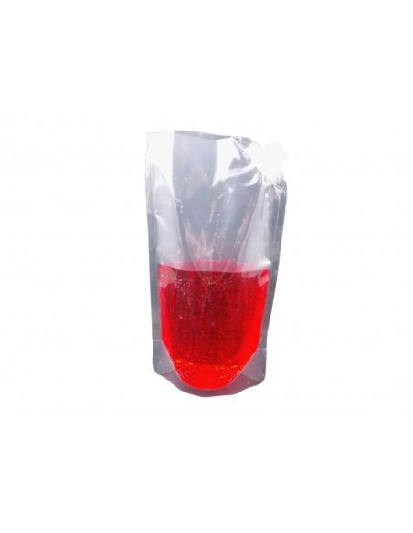 Heat Seal Foil Stand Up Bags Pouches Bag Food Grade Spout