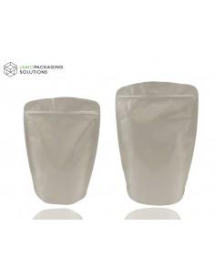 Mylar Heat Seal Aluminium Foil Stand Up Bags / Pouches Zip Lock Bag Food Grade