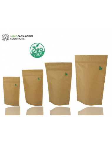 Kraft Paper Fully Biodegradable Stand...