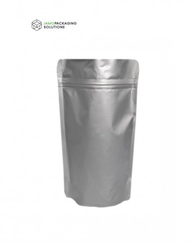 Silver Aluminium Foil Stand Up Pouch...
