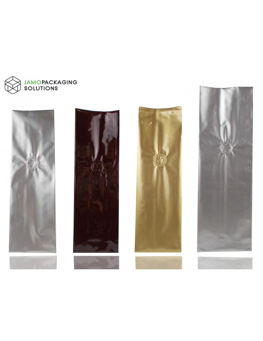 Coffee Tea Bags With Internal Valve Heat Seal Aluminum