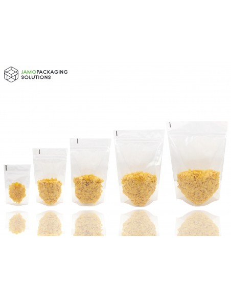 Transparent Extra Thick Stand Up Pouch with Zip Lock