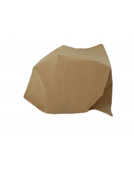 KRAFT BROWN PAPER BAGS, HEAT SEAL FOR CATERING,CAKES, FRUITS,PASTRY