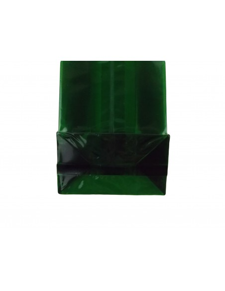 Transparent/Heat Seal Gusset pouch/bag with clear block bottom/gift/food