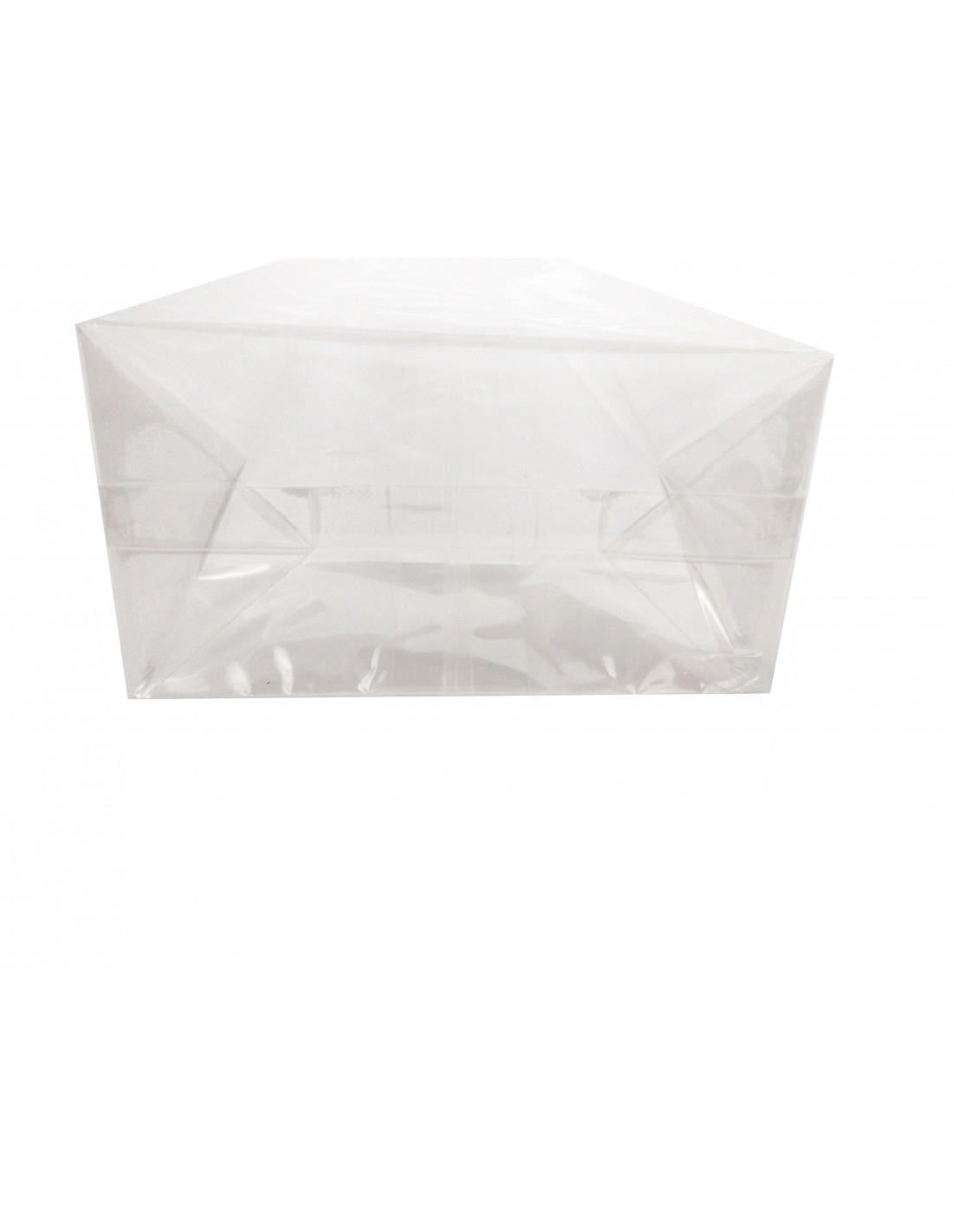 Transparent//Heat Seal Gusset pouch//bag with clear block bottom//gift//food