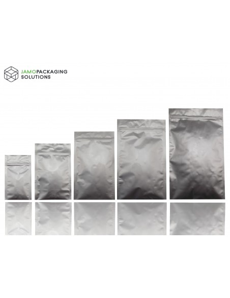 Mylar Foil, Aluminium, Sachet, Pouch with Ziplock, Heat Seal