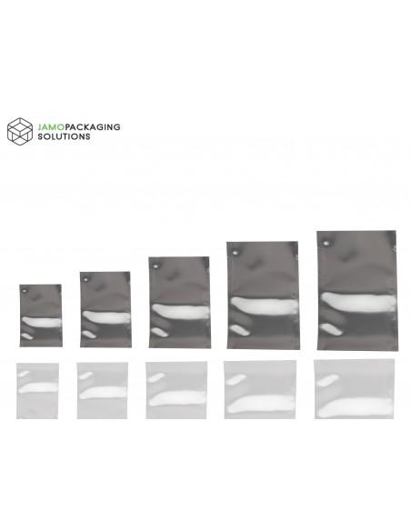 Heat Seal Food Grade Silver shine Bags, Sachet Pouch