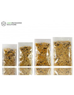 Transparent Sachet Pouch with zip lock Heat Seal Food Grade