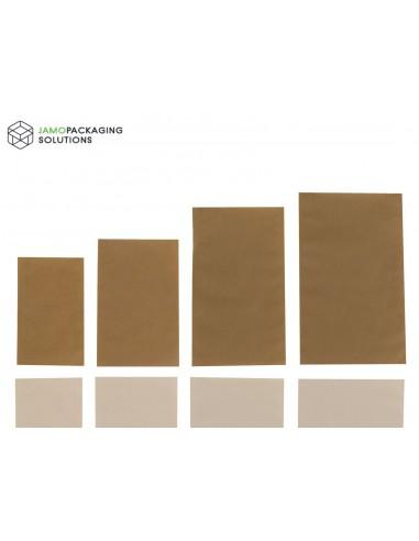 Kraft Paper Bags Sachet Pouch, Heat Seal Food Grade
