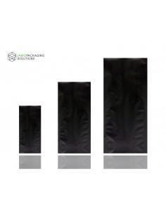 Black Matt Aluminimium Side Gusset Pouch, Bag Various Size HIGH BARRIER